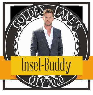 Golden Lakes Charakter, den ich mit auf eine einsame Insel nehmen würde